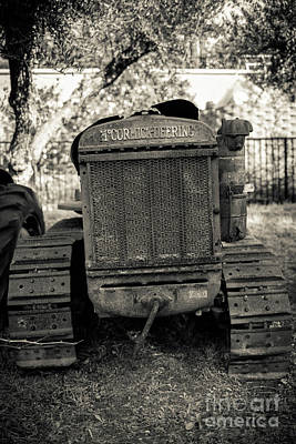 Photograph - Mc Cormick-deering Rusty Old Vintage Tractor by Edward Fielding