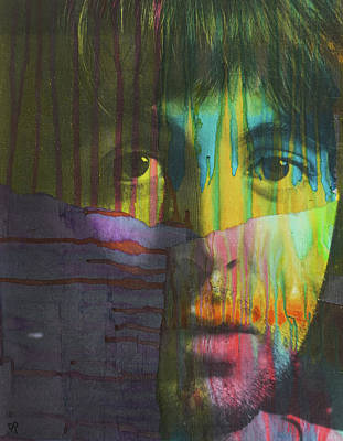 Painting - Mccartney Dript by Dean Russo Art