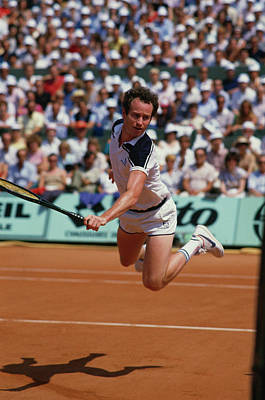 Photograph - Mcenroe In The Air by Steve Powell