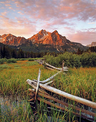Photograph - Mcgown Peak Gold by Leland D Howard