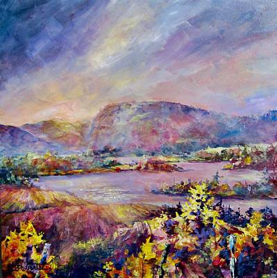 Painting - Mcintyre Blluff by Bonny Roberts
