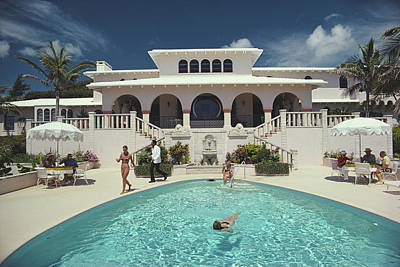 Architecture Photograph - Mcmartin Villa by Slim Aarons