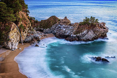 Photograph - Mcway Falls At Twilight by John Hight