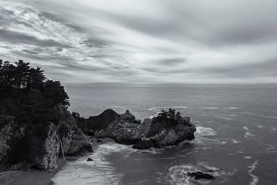 Photograph - Mcway Falls Bw by Jonathan Nguyen