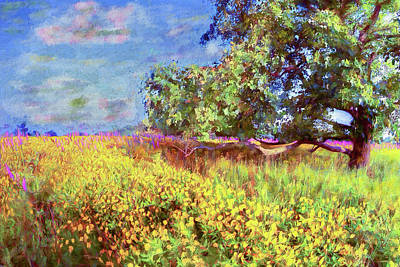 Painting - Meadow Of Color Ap by Dan Carmichael