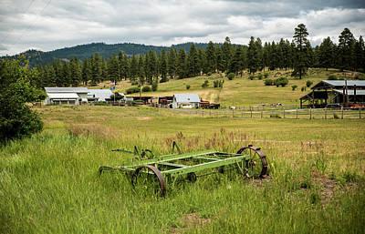 Photograph - Mean Green Machine by Tom Cochran