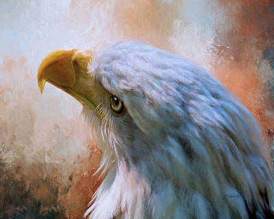 Photograph - Meant To Be - Eagle Art by Jordan Blackstone