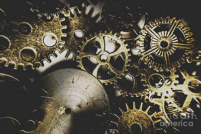 Steampunk Royalty-Free and Rights-Managed Images - Mechanical age by Jorgo Photography - Wall Art Gallery