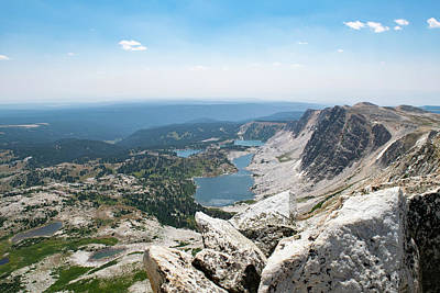 Photograph - Medicine Bow Peak by Nicole Lloyd