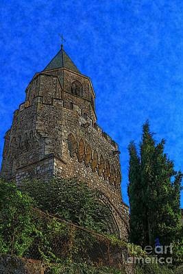 Digital Art - Medieval Bell Tower 5 by Jean Bernard Roussilhe