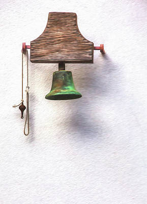 Photograph - Medieval Church Bell by David Letts
