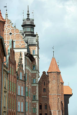 Photograph - Medieval Towers by Ramunas Bruzas