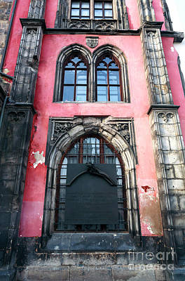 Photograph - Medieval Windows Prague by John Rizzuto