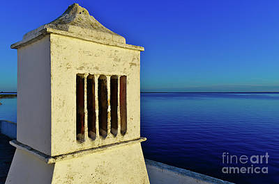Mediterranean Chimney In Algarve Art Print