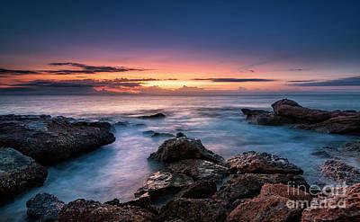 Photograph - Mediterranean Sunrise by Hernan Bua