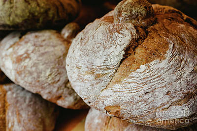 World Forgotten Rights Managed Images - Mediterranean traditional handmade round breads Royalty-Free Image by Joaquin Corbalan
