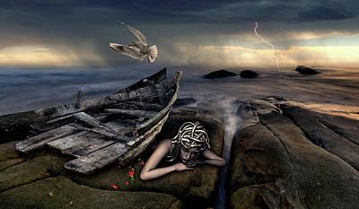 Digital Art - Medusa by Mihaela Pater