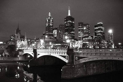 Photograph - Melbourne Contrasts by Nikontiger