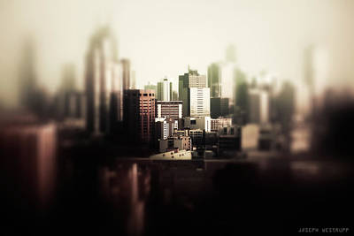Melbourne Towers Art Print