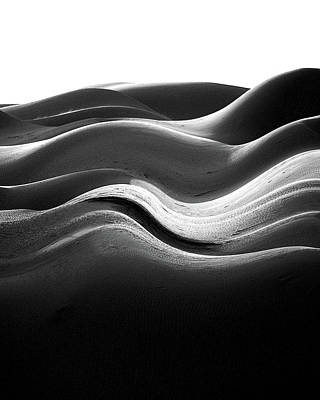 Photograph - Melting Dunes by Jeff Brunton