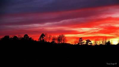Photograph - Melting Sky by Wesley Nesbitt