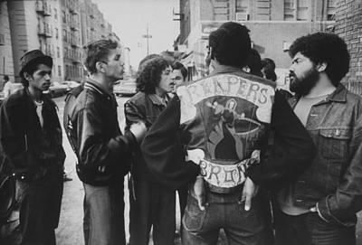 The Bronx Photograph - Members Of A Bronx Street Gang Named by John Shearer