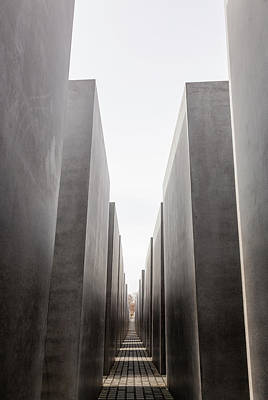 Photograph - Memorial To The Murdered Jews Of by Bjorn Holland