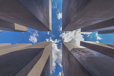 Photograph - Memorial To The Murdered Jews Of Europe by ReDi Fotografie