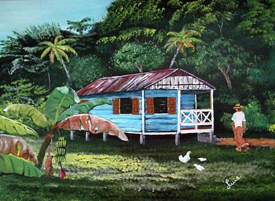 Painting - Memorias by Luis F Rodriguez