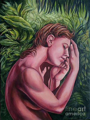 Painting - Memories of a Rainforest by Shelly Leitheiser
