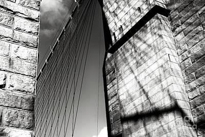 Photograph - Memories Of The Brooklyn Bridge In New York City by John Rizzuto