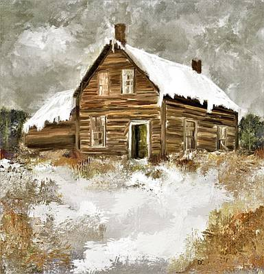 Painting - Memories Of Winters Past by Diane Chandler