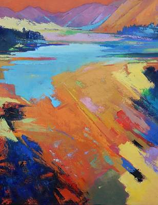 Painting - Memory Of Lake by Gary Coleman