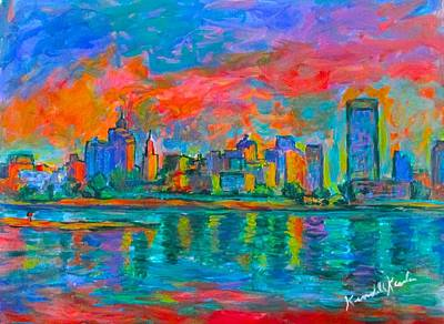 Painting - Memphis Reflections by Kendall Kessler