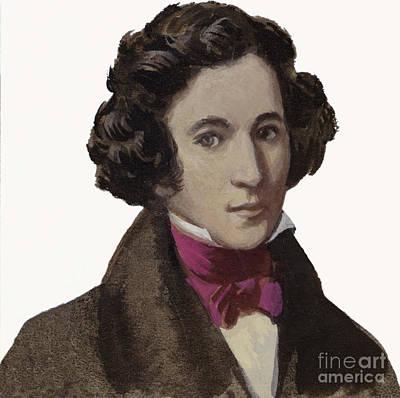 Painting - Mendelssohn by Ralph Bruce