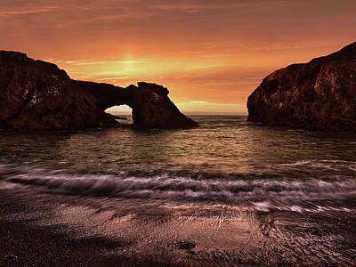 Photograph - Mendocino Headlands by Leland D Howard