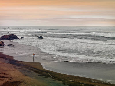 Photograph - Mendocino Luck by Leland D Howard
