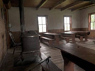 Photograph - Mennonite School House by Phyllis Stokes