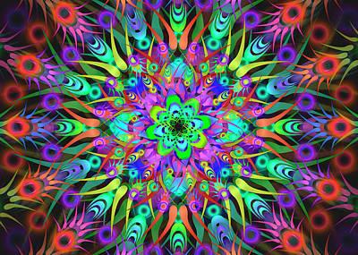 Digital Art - Mental Complex Remix by Vitaly Mishurovsky