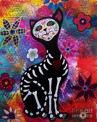 Painting - Meow by Pristine Cartera Turkus