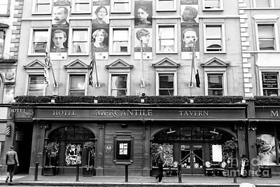 Photograph - Mercantile On Dame Street Dublin by John Rizzuto