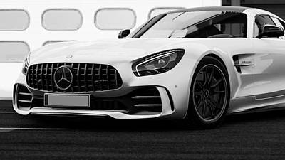 Photograph - Mercedes Benz Amg Gtr - 51 by Andrea Mazzocchetti