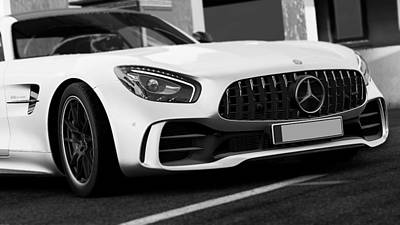 Photograph - Mercedes Benz Amg Gtr - 52 by Andrea Mazzocchetti