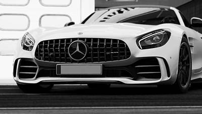 Photograph - Mercedes Benz Amg Gtr - 53 by Andrea Mazzocchetti