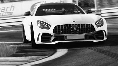 Photograph - Mercedes Benz Amg Gtr - 58 by Andrea Mazzocchetti