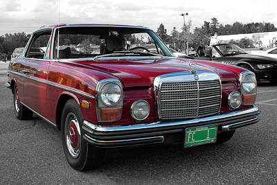 Wall Art - Photograph - Mercedes, Cars And Coffee by Rik Carlson