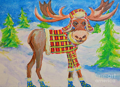 Painting - Merry Christma, Ehhh? by Li Newton