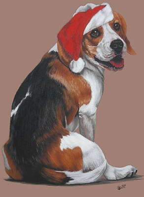 Pastel - Merry Christmas by Barbara Keith