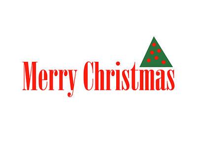 Digital Art - Merry Christmas by Peter Cutler