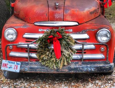 Photograph - Merry Christmas Texas by Gia Marie Houck